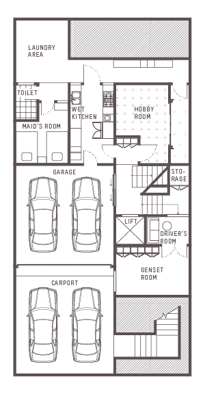 South Grove Floor Plan 1