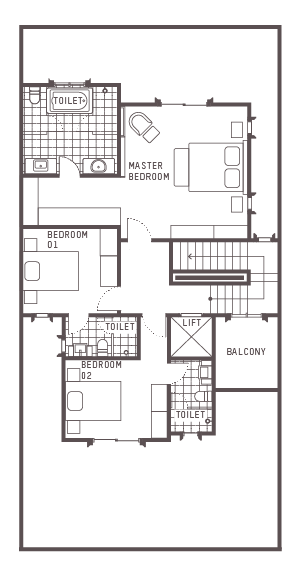 South Grove Floor Plan 3